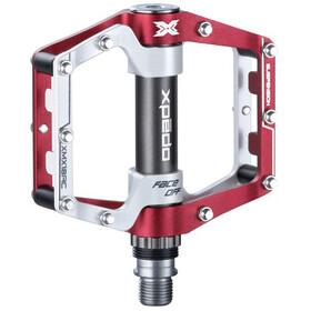 Xpedo XMX18AC Pedale rot/weiß